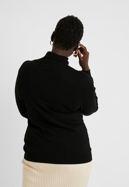 ZMNIEJSZONE O 50% Even&Odd Curvy Sweter - black Odzież Damska XFEH-FS8