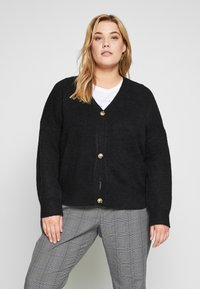 Even&Odd Curvy - Cardigan - black - 0