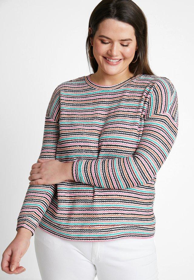 STRIPE SWEAT - Sweatshirt - multicoloured