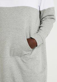 Even&Odd Curvy - Vestido informal - light grey melange - 5