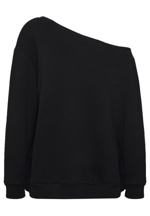 OFF SHOULDER - Sweatshirt - black