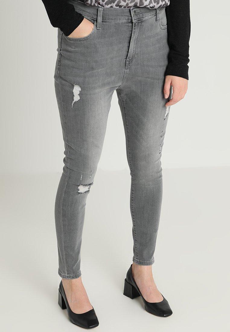 Even&Odd Curvy - Jeans Skinny Fit - grey denim