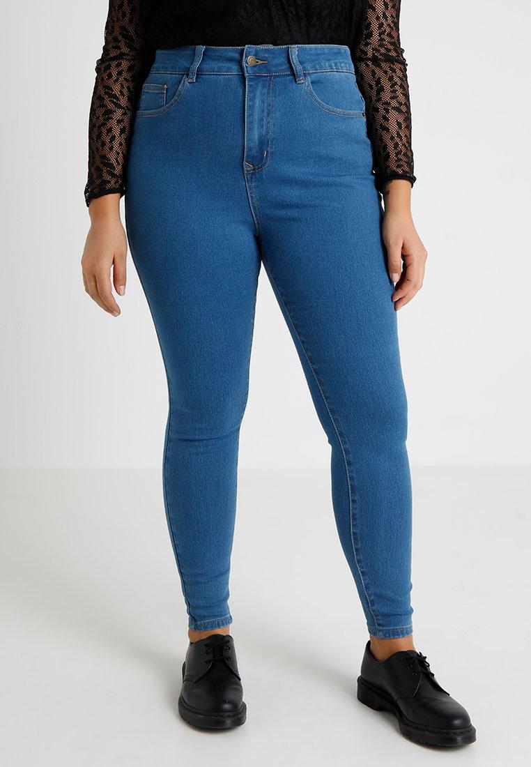 Even&Odd Curvy - Jeans Skinny Fit - blue