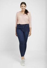 Even&Odd Curvy - Jeans Skinny - dark blue - 1