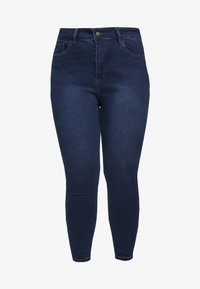 Even&Odd Curvy - Jeans Skinny - dark blue - 4