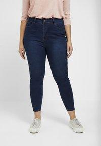 Even&Odd Curvy - Jeans Skinny - dark blue - 0