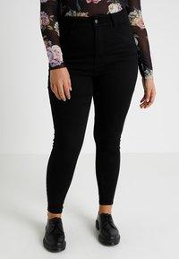 Even&Odd Curvy - Jeans Skinny Fit - black - 0