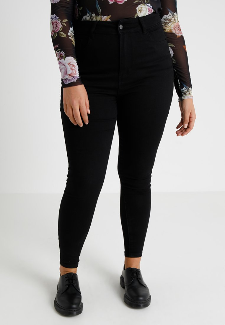 Even&Odd Curvy - Jeans Skinny Fit - black