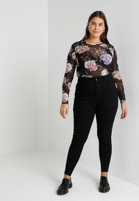 Even&Odd Curvy - Jeans Skinny Fit - black - 2