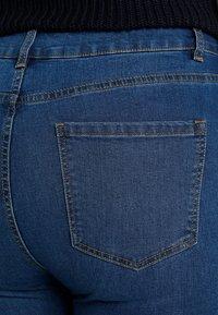 Even&Odd Curvy - Skinny džíny - dark blue - 3