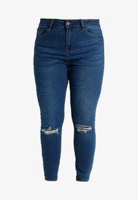 Even&Odd Curvy - Skinny džíny - dark blue - 4