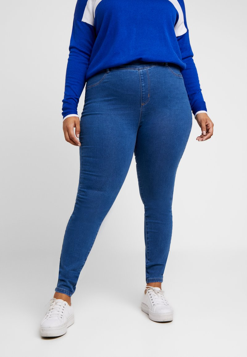 Even&Odd Curvy - Jeggings - mid blue denim