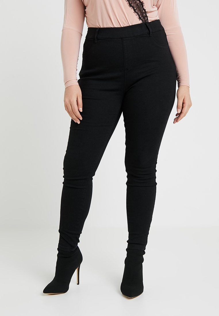 Even&Odd Curvy - Jeggings - black
