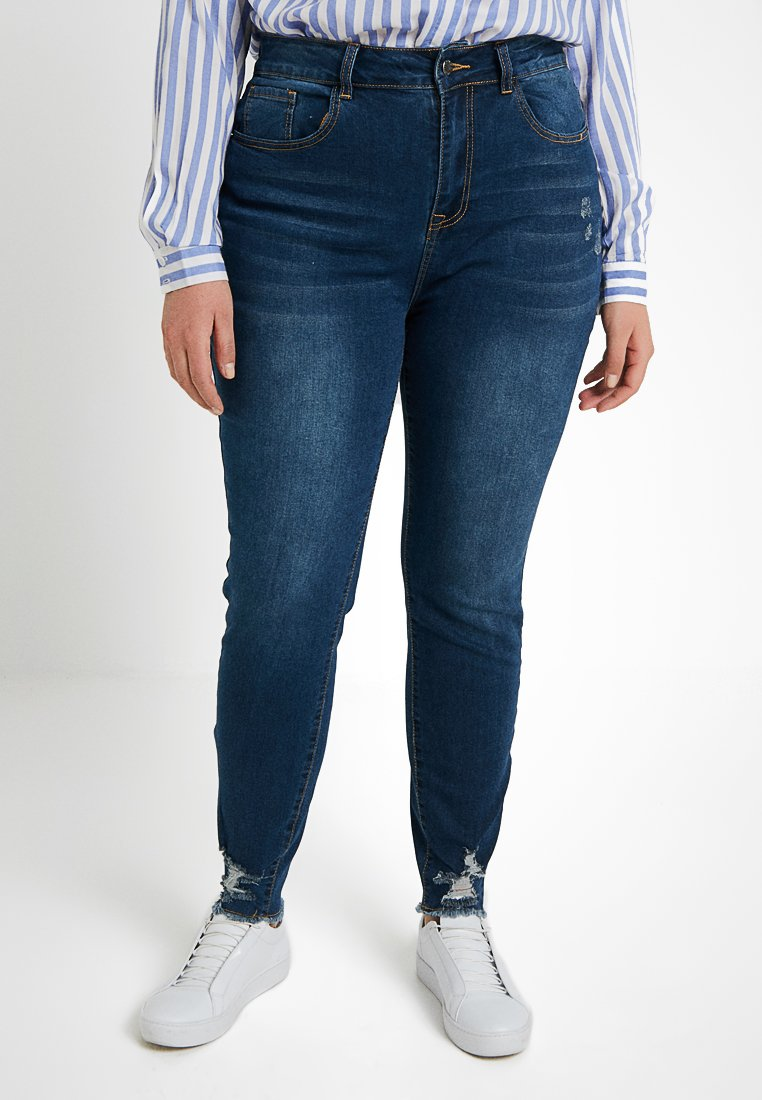 Even&Odd Curvy - Jeans Skinny Fit - blue