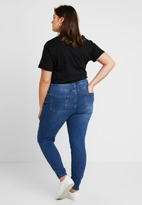 Even&Odd Curvy - Jeans Skinny Fit - dark blue - 3