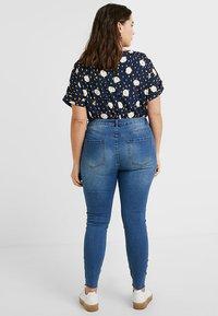 Even&Odd Curvy - Jeans Skinny Fit -  dark blue - 2