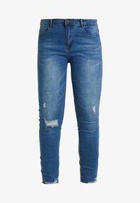 Even&Odd Curvy - Jeans Skinny Fit -  dark blue - 4