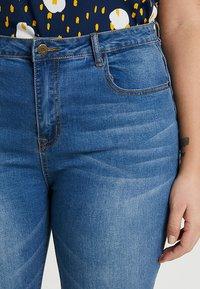 Even&Odd Curvy - Jeans Skinny Fit -  dark blue - 3