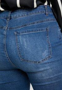 Even&Odd Curvy - Jeans Skinny Fit - dark blue denim - 5