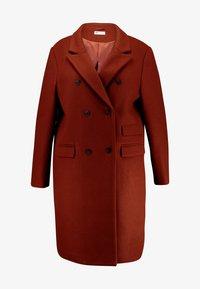 Even&Odd Curvy - Classic coat - red - 6