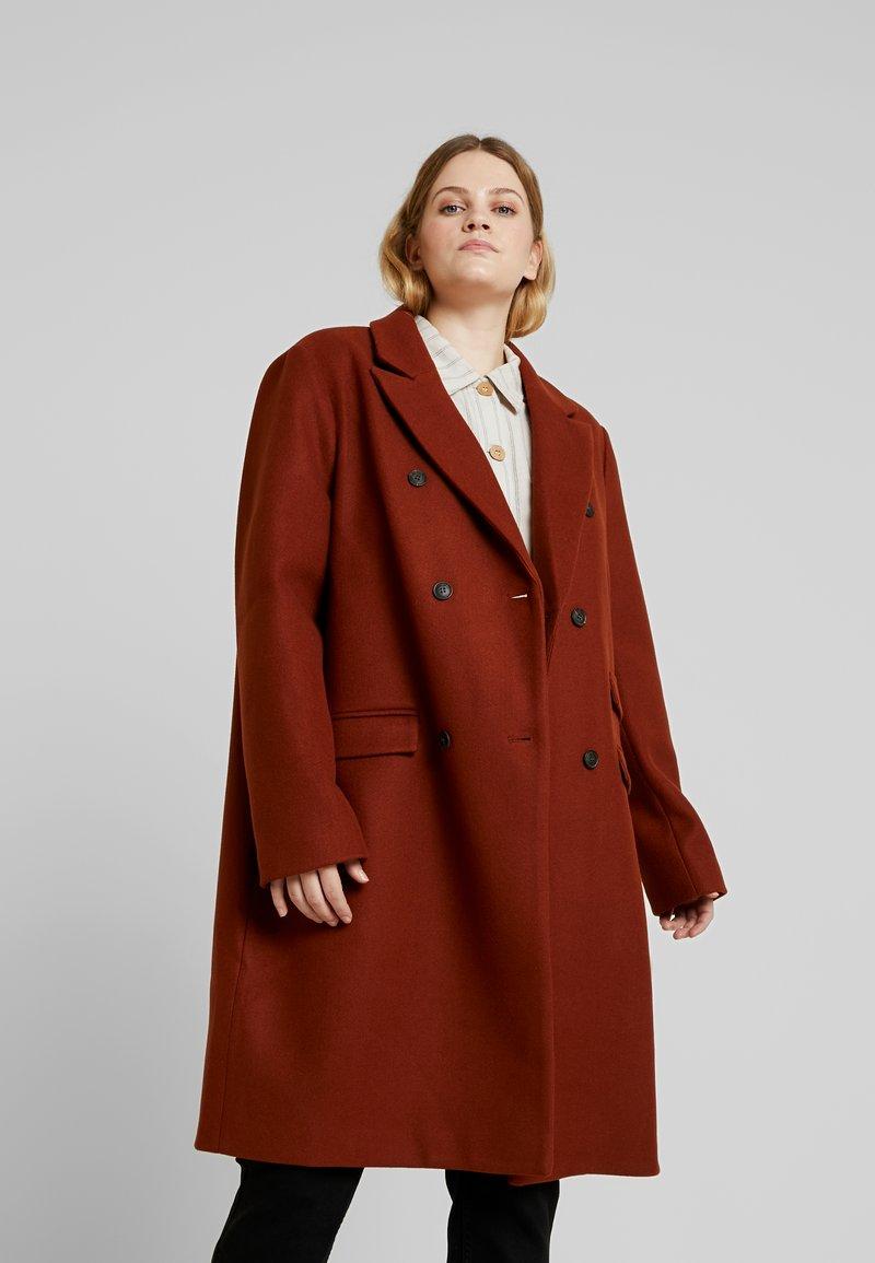 Even&Odd Curvy - Classic coat - red