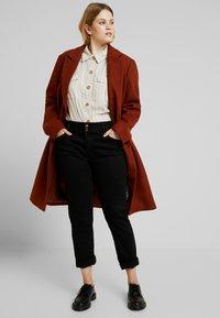 Even&Odd Curvy - Classic coat - red - 1