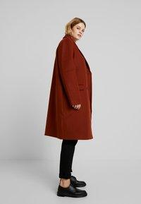Even&Odd Curvy - Classic coat - red - 2