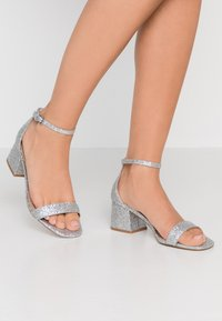 Even&Odd Wide Fit - Sandals - silver - 0