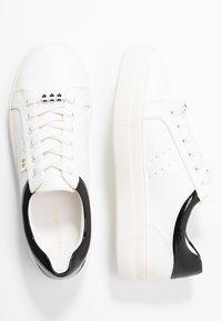 Even&Odd Wide Fit - Tenisky - white/black - 3