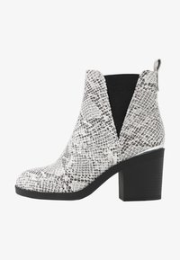 Even&Odd Wide Fit - Ankelboots - white/black - 1