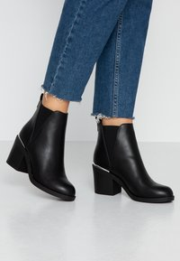 Even&Odd Wide Fit - Ankle boots - black - 0