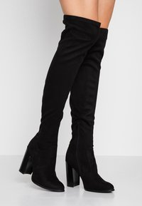 Even&Odd Wide Fit - Bottes à talons hauts - black - 0
