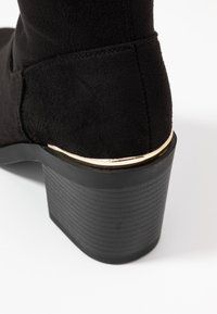Even&Odd Wide Fit - Botas mosqueteras - black - 2