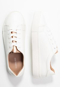 Even&Odd Wide Fit - Sneakers laag - white/rose gold - 3