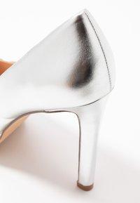 Even&Odd Wide Fit - Zapatos altos - silver - 2