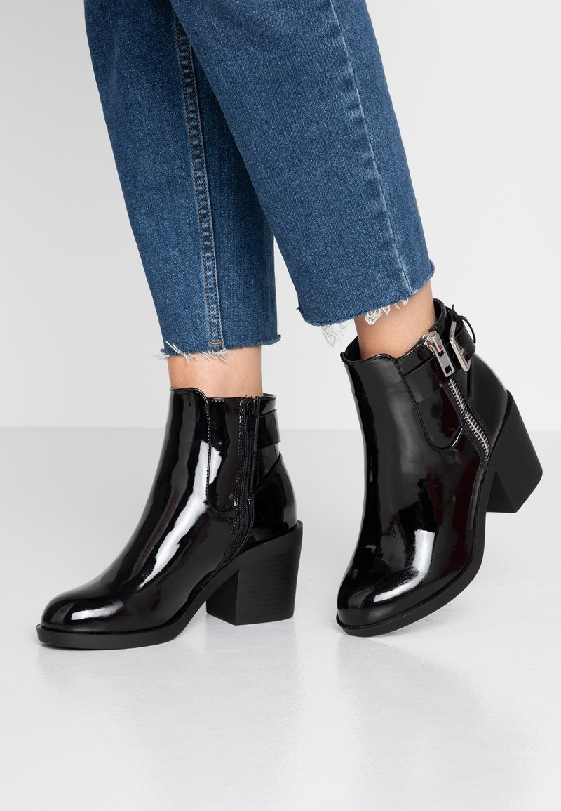 Even&Odd Wide Fit - Ankle boots - black
