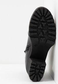 Even&Odd Wide Fit - Ankelboots med høye hæler - black - 6