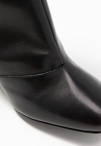 Even&Odd Wide Fit - WIDE FIT LEATHER BOOTIE - Ankelboots med høye hæler - black - 2