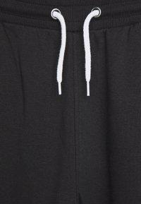 Even&Odd Petite - 2 PACK  - Spodnie treningowe - white/black - 4