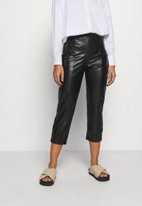 Even&Odd Petite - Pantalon classique - black - 0