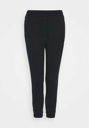 SLIM FIT JOGGERS - Pantalon de survêtement - black