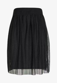 Even&Odd Petite - A-line skirt - black/black - 3
