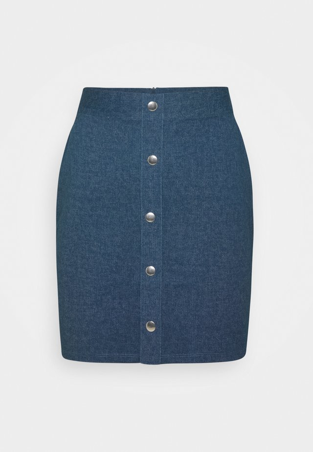 Blyantnederdel / pencil skirts - dark denim