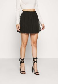 Even&Odd Petite - Mini skirts  - black - 0