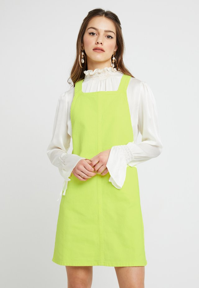 Day dress - lime as per swatch