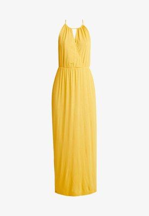 Vestido largo - mustard