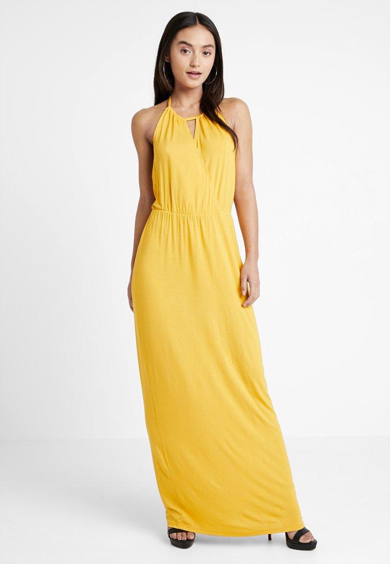 Even&Odd Petite - Maxi šaty - mustard