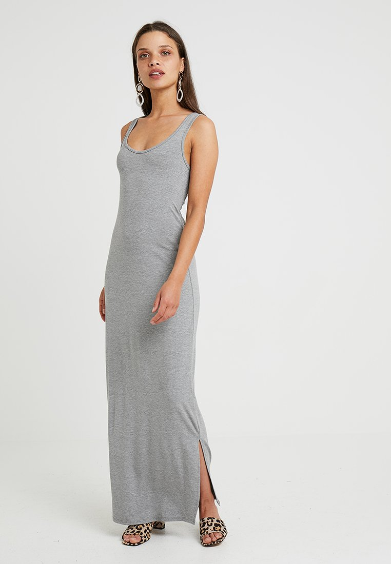 Even&Odd Petite - Vestido largo - mottled grey