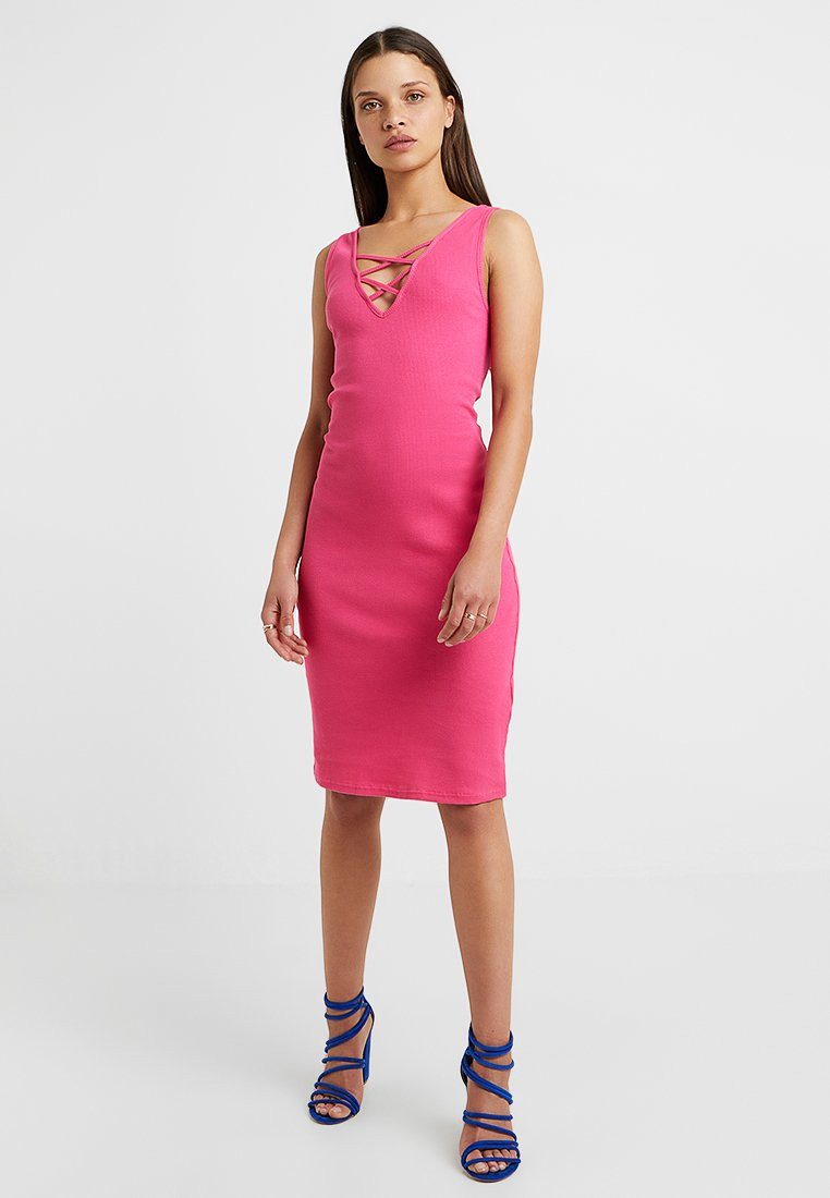 Even&Odd Petite - Vestido de tubo - pink