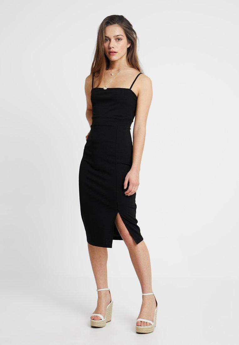 Even&Odd Petite - Jersey dress - black